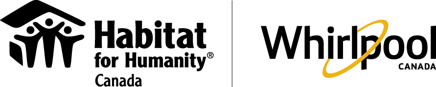Habitat for Humanity Canada and Whirlpool Canada Logos